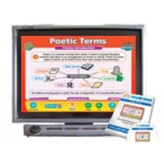 Daydream Education DD-EN-5-69 Poetic Terms Interactive Software , Single User