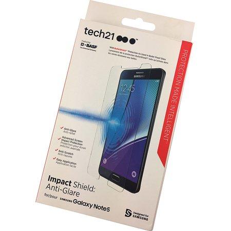 Tech21 IMPACT SHIELD ANTI-GLARE SCREEN PROTECTOR FOR SAMSUNG GALAXY NOTE 5 (Iq Shield Note Edge)