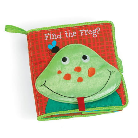 Baby Toys - Manhattan Toy - Find the Frog Soft Book Kids Games (Kiss Frogs)