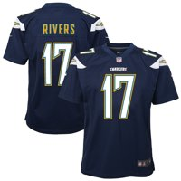 Philip Rivers Los Angeles Chargers Nike Youth Team Color Game Jersey - Navy Blue