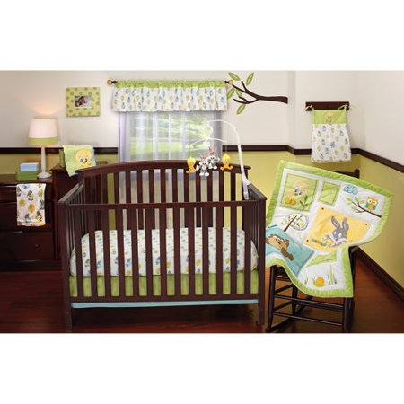 Baby Looney Tunes  Piece Crib Bedding Set