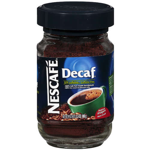 Nescafe Decaf: Decaffeinated Dry & Pure Instant Coffee, 3.5 Oz