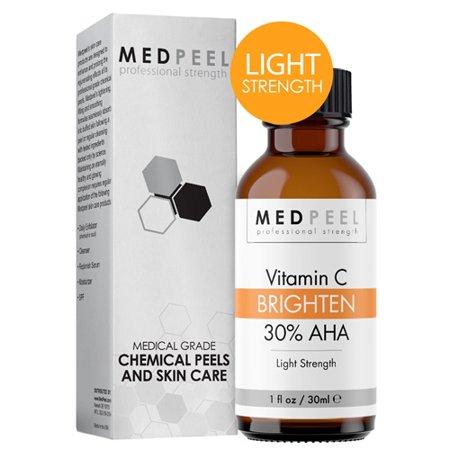 MedPeel 30% AHA & Vitamin C Brightening Peel - Light Strength 1oz / 30ml