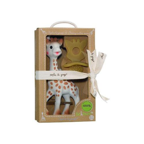 Vulli 616624  Sophie the giraffe   Chewing Rubber So Pure