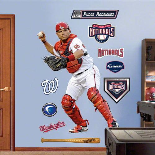 MLB - Ivan Rodriguez Washington Nationals Fathead