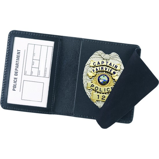 Strong Leather Company 74800-0182 Duty Side Open Badge Case 18 - 74800-0182 - Strong Leather Company