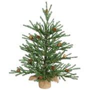 "Vickerman 18"" Carmel Pine Artificial Christmas Tree, Unlit"