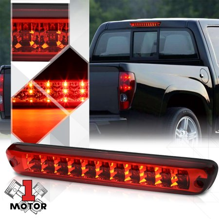 Red Rear Led Third 3rd Brake Light Cargo Functioned For 04 12 Colorado Canyon 05 06 07 08 09 10 11