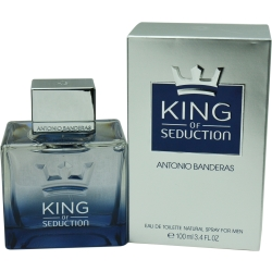 KING OF SEDUCTION by Antonio Banderas - EDT SPRAY 3.4 OZ - MEN
