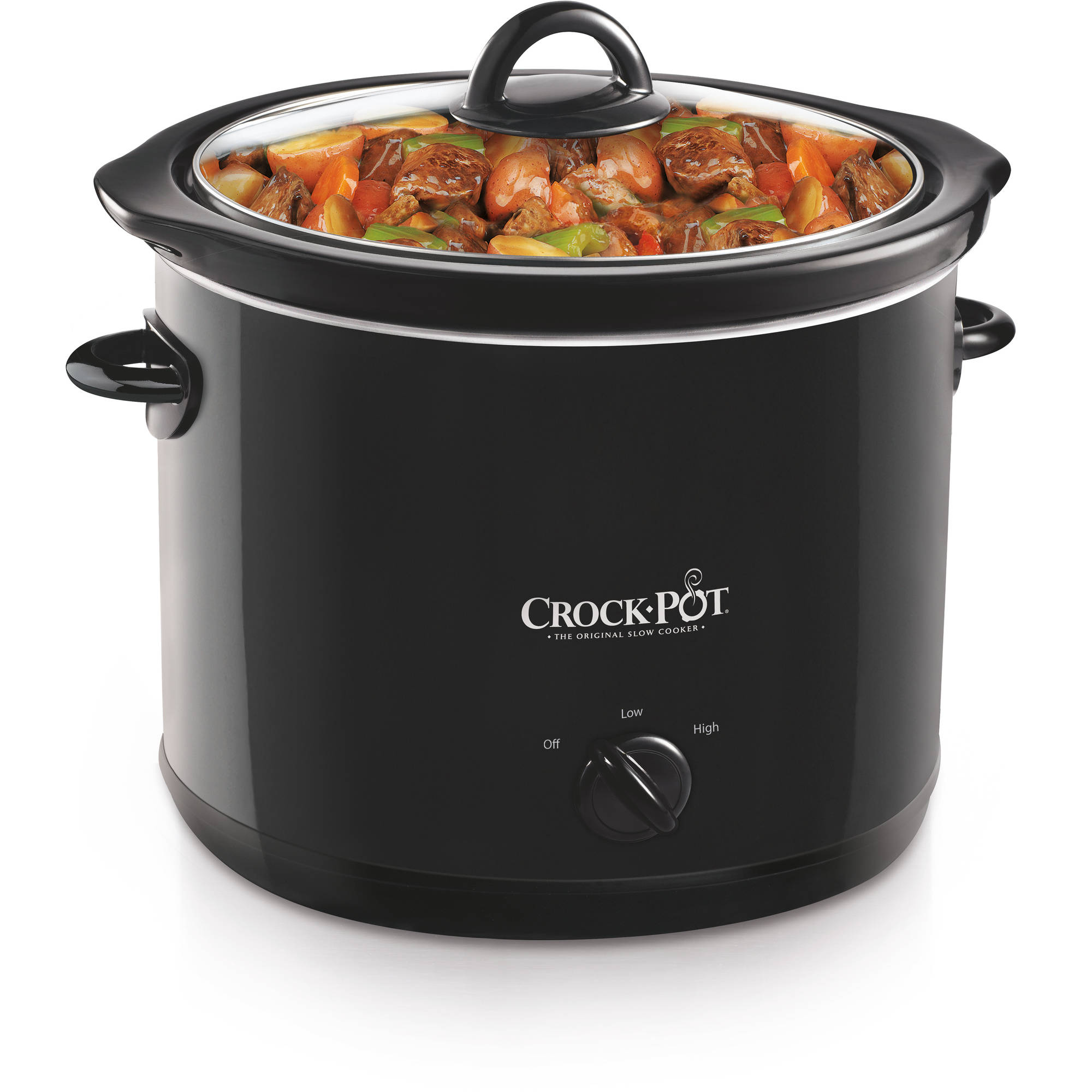 Crock-Pot 4-Quart Slow Cooker, Black, SCR400-B