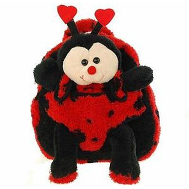 Kreative Kids 8271 Lady Bug Plush Animal Backpack