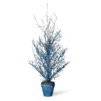 """National Tree Artificial 23"""" Potted Halloween Tree"""