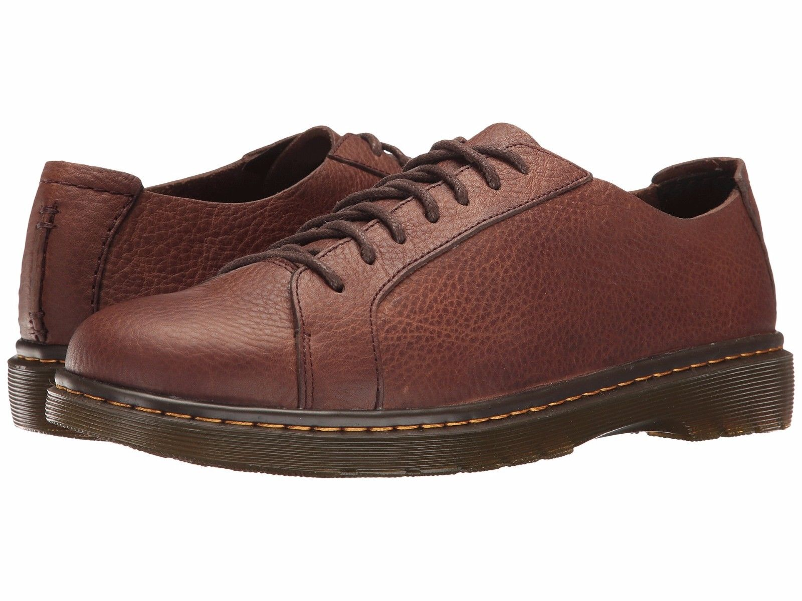 Dr. Martens Islip Men's Shoes 7 Eye Leather Oxfords 22108201 Dark Brown by Dr. Martens
