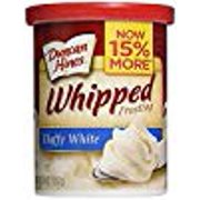 Duncan Hines Whipped Frosting Fluffly White Gluten Free 14 Oz. Pk Of 3.