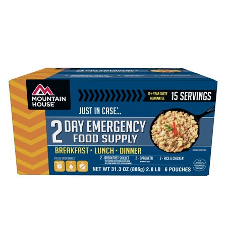 Mountain House Just In Case...® 2-Day Emergency Food Supply