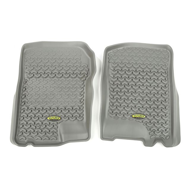 Outland Automotive Floor Liners, Front, Gray; 97-03 Expedition/Blackwood/Navigator 398490205