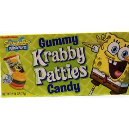 Product Of Spongebob , Krabby Patty Original, Count 1 (2.54 oz) - Sugar Candy / Grab Varieties & Flavors](Spongebob Candy)