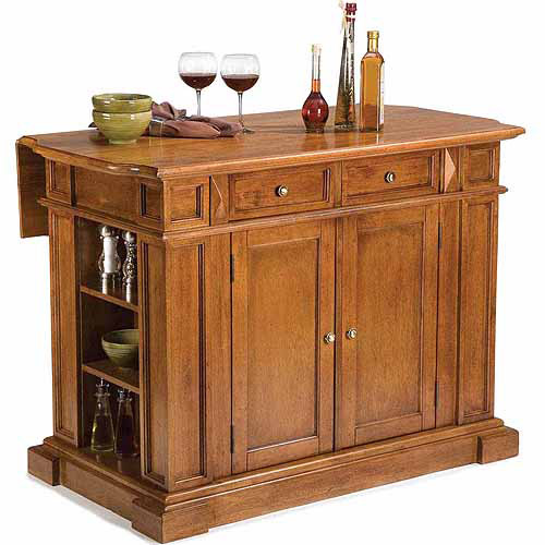 Home Styles Traditions Kitchen Island, Distressed Oak
