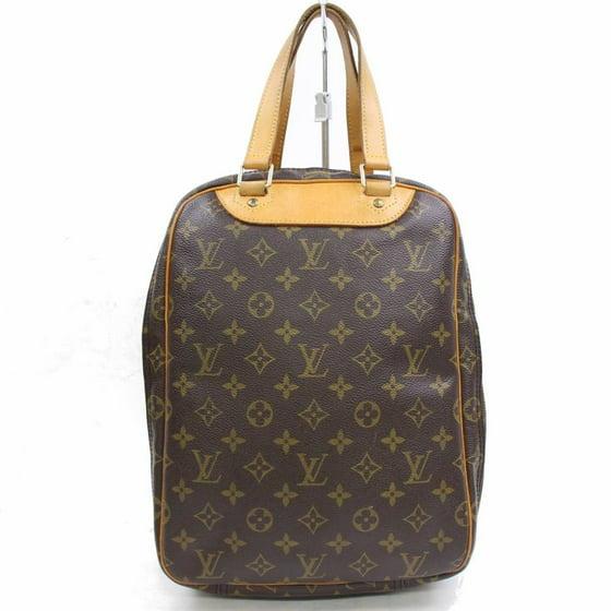 c1e09941 Louis Vuitton - Excursion Monogram Sac Shoe Carrier 868281 Brown Coated  Canvas Satchel - Walmart.com