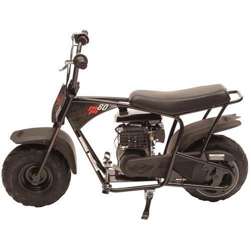 Monster Moto Youth Mini Bike 79.5cc OHV, Black
