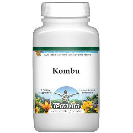 Kombu Powder  4 Oz  Zin  520644    3 Pack