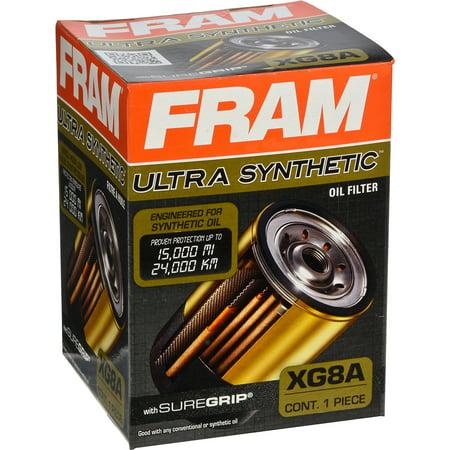 fram fuel filter cartridge fram ultra synthetic oil filter, xg8a - walmart.com