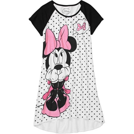 women 39 s minnie mouse short sleeve sleep shirt