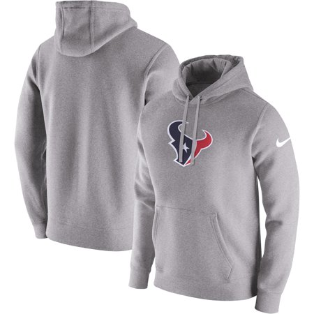 Houston Texans Nike Club Fleece Pullover Hoodie - Heathered Gray](Halloween Club Events Houston)