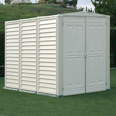 Duramax Building Products YardMate 5 Ft. W x 8 Ft. D Vinyl Garden Storage Shed