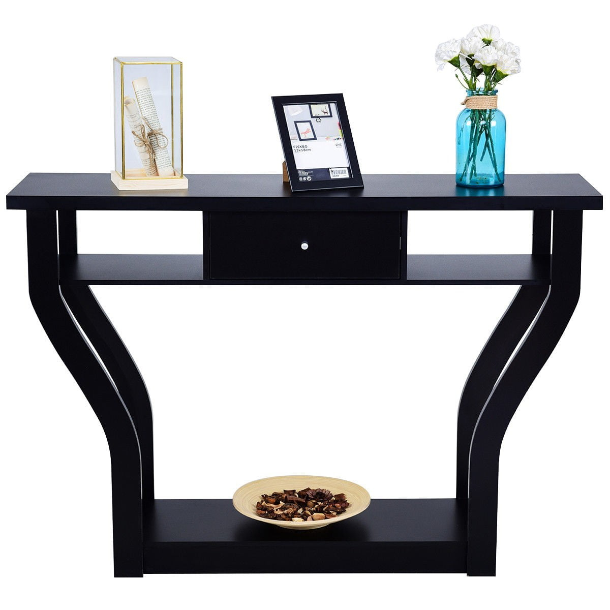 Modern Console Table Entryway Table Elegant Side Table W