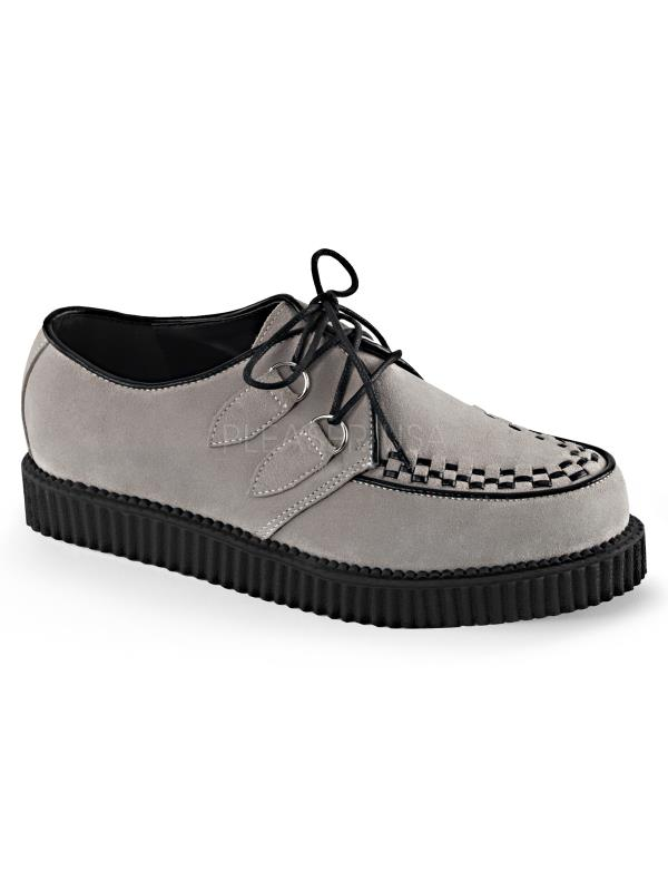 Demonia Creepers Unisex CRE602S/GY Size: 4