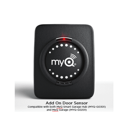 Chamberlain MyQ Smart Garage Add On Door Sensor (Halloween Garage Door Silhouette)