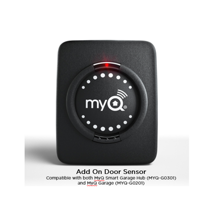 Chamberlain MyQ Smart Garage Add On Door Sensor - Homemade Garage Door Halloween Decorations