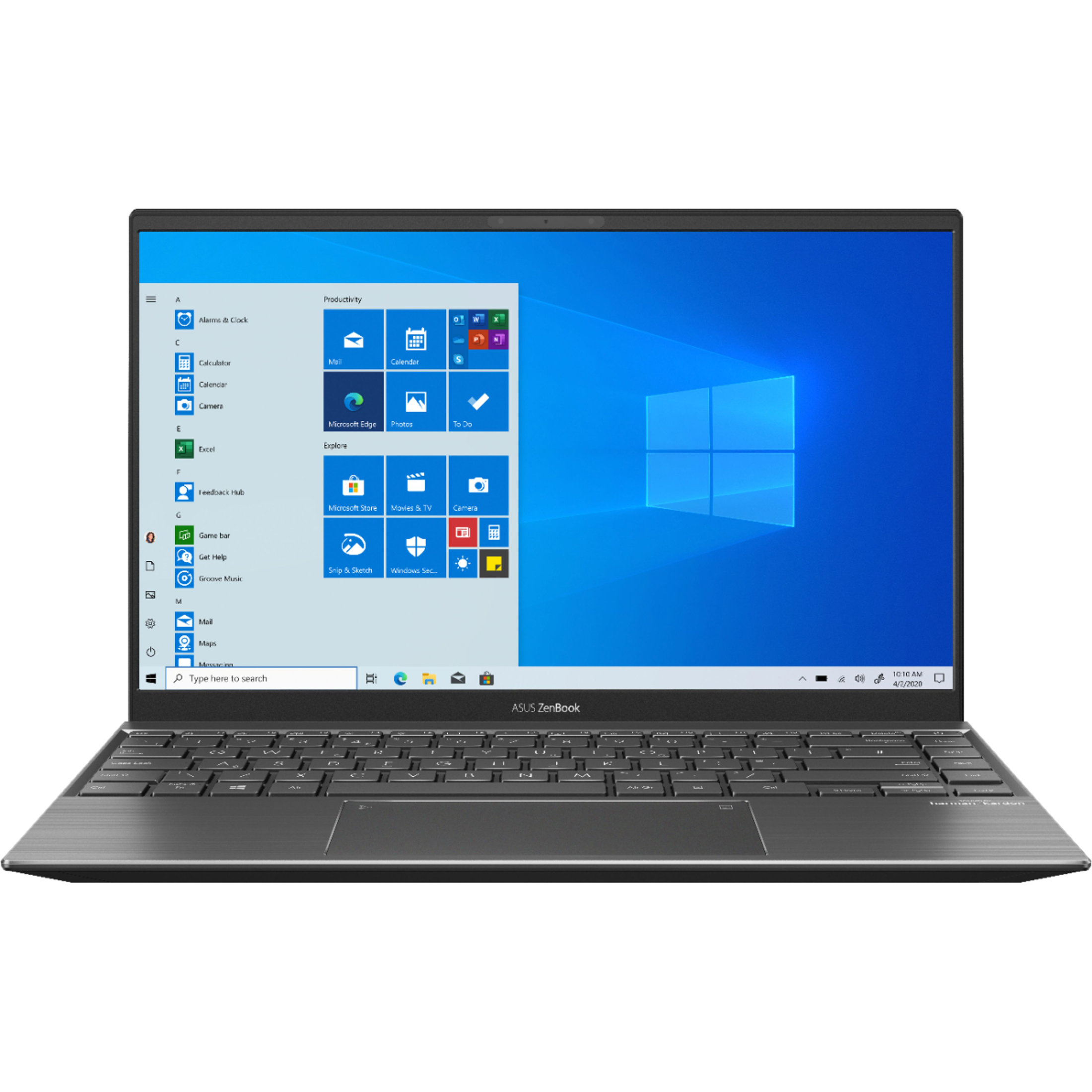 ASUS Zenbook Q Series (Q408UG-211.BL) 14″ Laptop, AMD Ryzen 5, 8GB RAM, 256GB SSD