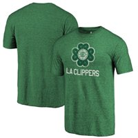 LA Clippers Fanatics Branded St. Patrick's Day Luck Tradition Tri-Blend T-Shirt - Green