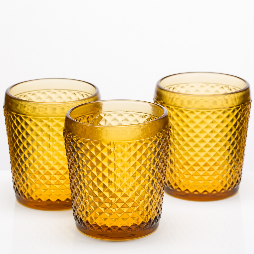 Richland Diamond Candle Holder Clear Set of 6