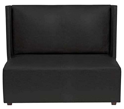 Howard Elliott Atlantis Black Square Loveseat by Howard Elliott