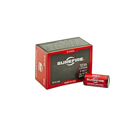 Surefire Battery (Surefire SF123A Box of 24 123A 3 Volt Lithium Batteries 24-Pack )
