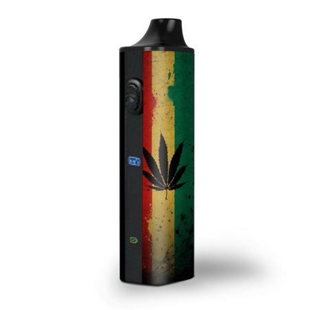 Skins Decals for Pulsar APX Herb Vape / Rasta Weed Pot Leaf
