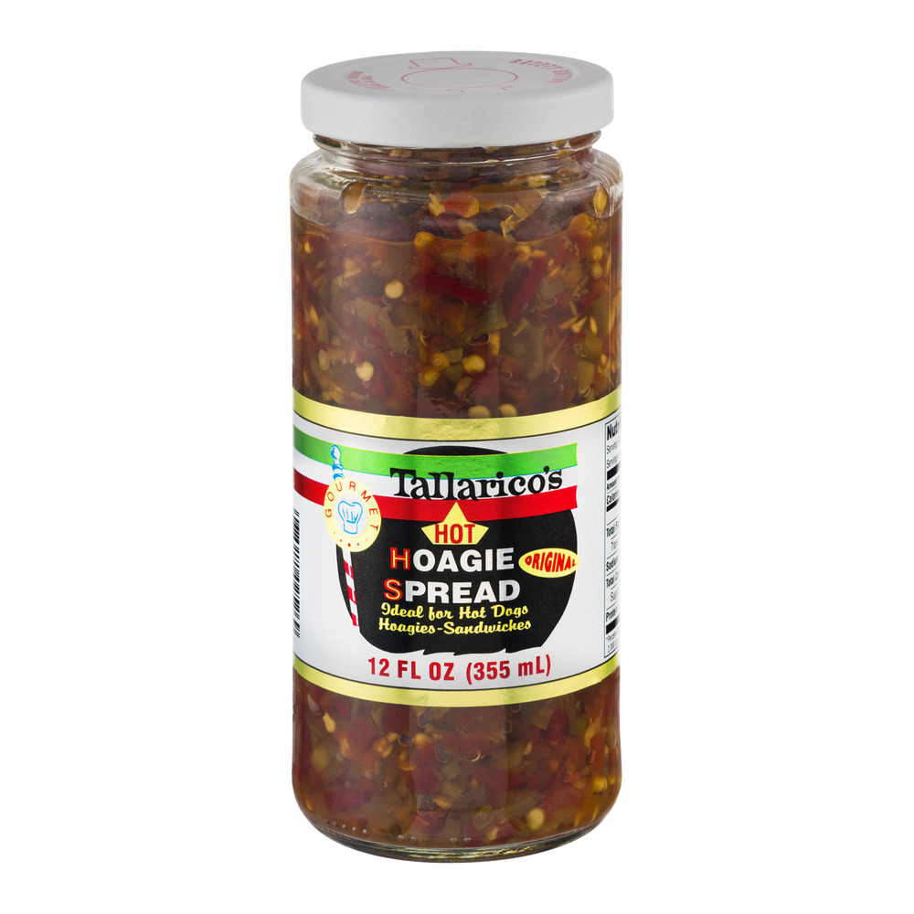 Tallarico's Hoagie Spread Hot, 12.0 FL OZ