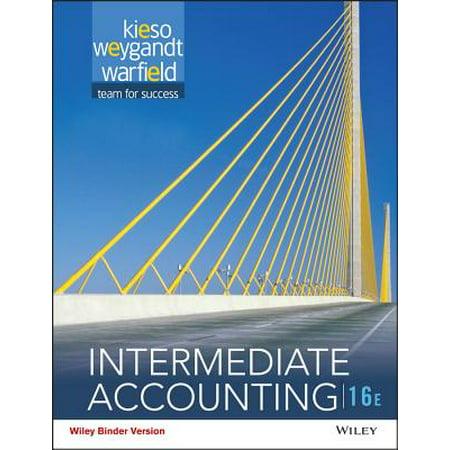 Intermediate Accounting Exam - Intermediate Accounting, Binder Ready Version