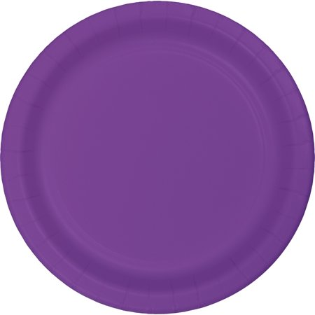 Club Pack of 240 Amethyst Purple Disposable Paper Party Lunch Plates 7