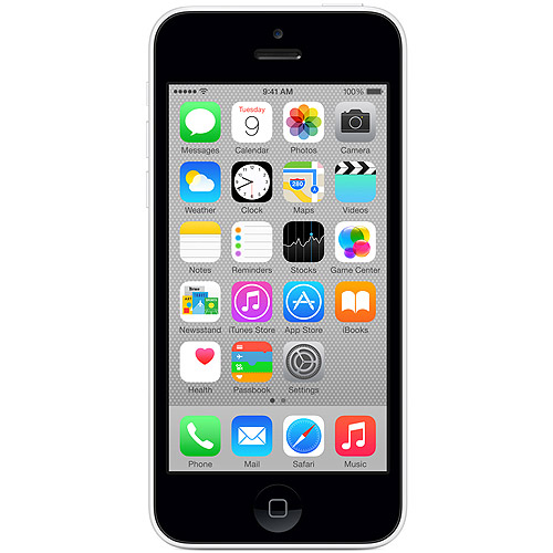 Straight Talk Apple iPhone 5C 8GB 4G LTE Prepaid Smartphone