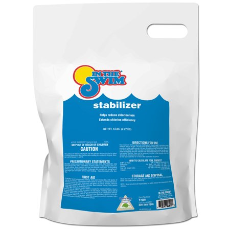 In The Swim Pool Chlorine Stabilizer And Conditioner 5 Lb Bag