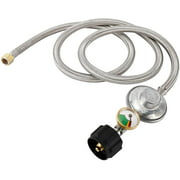 Best Rocket Stove Water Heaters - 5 FT (1.5M) Propane Regulator Hose Replacement Review