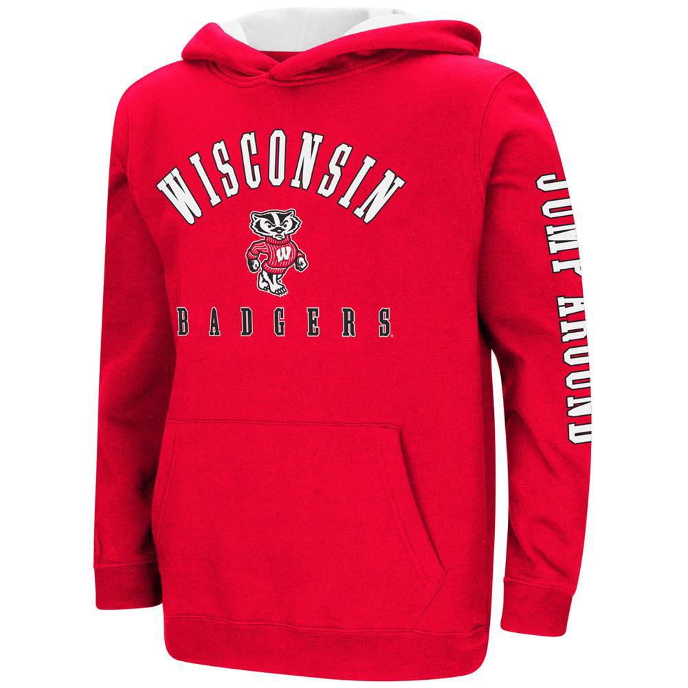 University of Wisconsin Badgers Youth Hoodie Pullover Sweatshirt