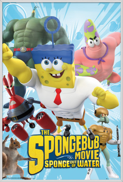 The Spongebob Movie (2015) New International Poster ... |Spongebob Movie Poster