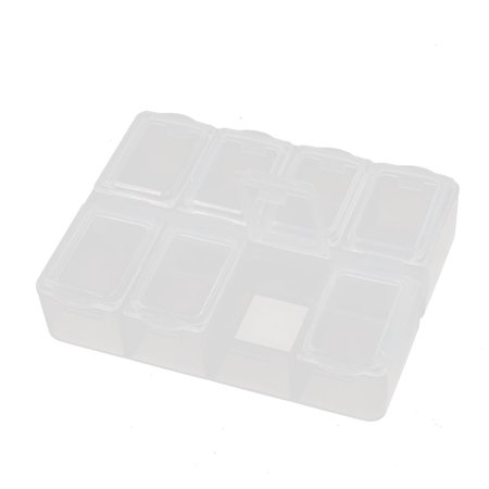 Desktop Tool Part Hardware Plastic Adjustable Storage Sorter Case Box Organizer](Plastic Desk Organizer)
