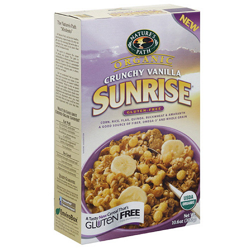 Nature's Path Organic Crunchy Vanilla Cereal, 10.6 oz (Pack of 12)