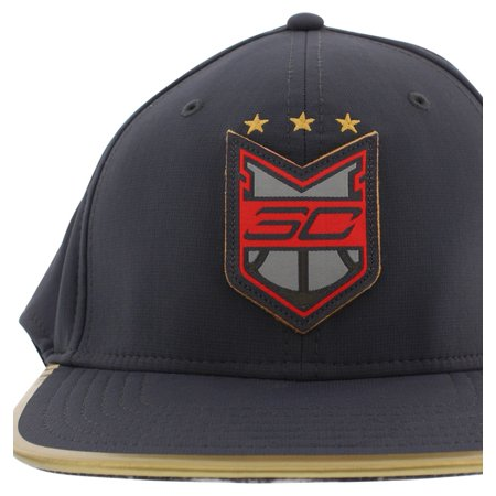 Under Armour - Under Armour Mens SC30 Crest Snapback Hat Dark Gray One Size  - Walmart.com b886f0e514f